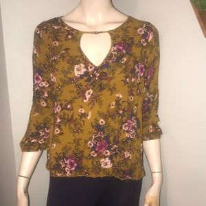 ⚡️American Eagle Floral Top with Opening SzS